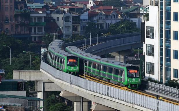 首都河内拟投资兴建10条城铁 hinh anh 1