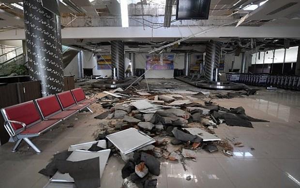 印尼地震和海啸事件:尽快将穆提亚拉西斯朱弗里机场恢复正常运行 hinh anh 1