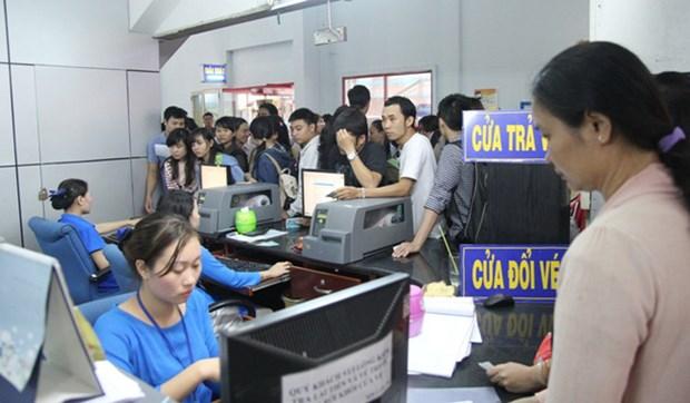 西贡车站开始出售2019年己亥春节火车票 hinh anh 1