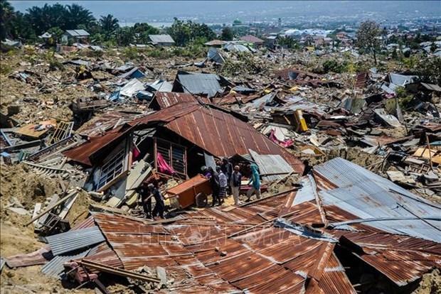 印尼地震和海啸:联合国提供紧急援助 印尼拒绝美国援助 hinh anh 1