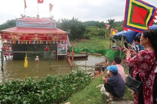 保护与弘扬国家非物质文化遗产--水上木偶戏的价值 hinh anh 1