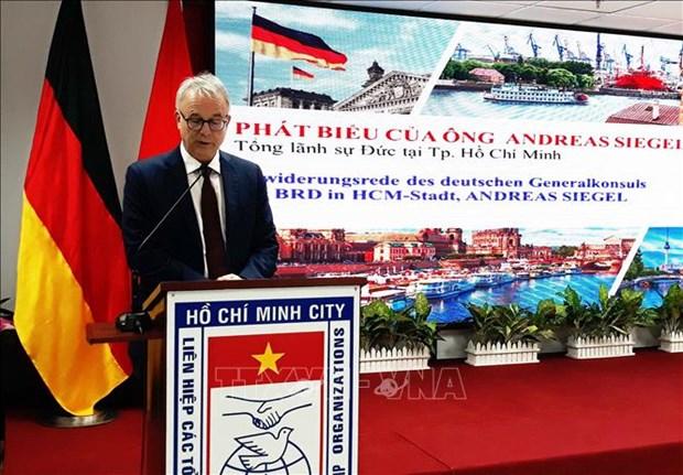 德国统一日28周年纪念见面会在胡志明市举行 hinh anh 1