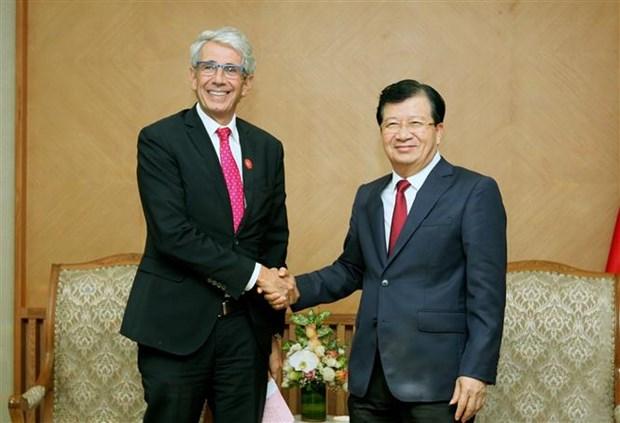 法国是越南在欧洲最重要的经济伙伴 hinh anh 1