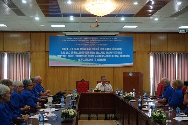 促进越南与各国人民之间的友好合作关系 hinh anh 1