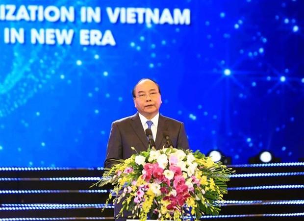 阮春福总理:越南承诺继续改善投资环境 与国际标准接轨 hinh anh 1