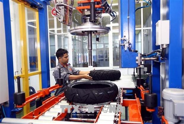 世行《东亚及太平洋地区经济更新报告》预测越南GDP达6.8% hinh anh 1
