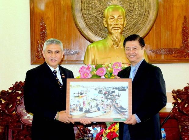 进一步加强越南芹苴市企业与印尼的投资合作 hinh anh 1