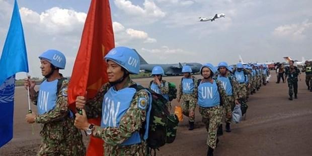 越南一号二级野战医院抵达南苏丹执行任务 hinh anh 2