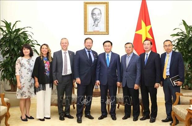 英国将为越南建设智慧城市提供援助 hinh anh 1