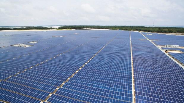 越南首座太阳能发电厂正式投入运营 hinh anh 2