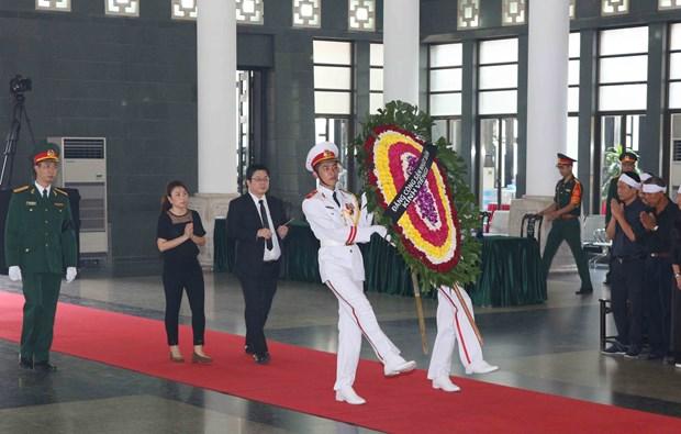 各国代表团悼念原越共中央总书记杜梅 hinh anh 3