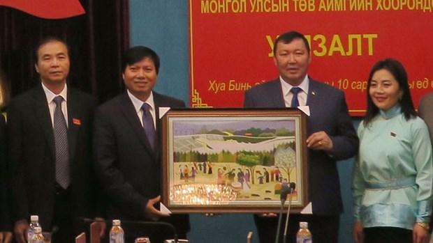 越南与蒙古加强贸易交流合作 hinh anh 1