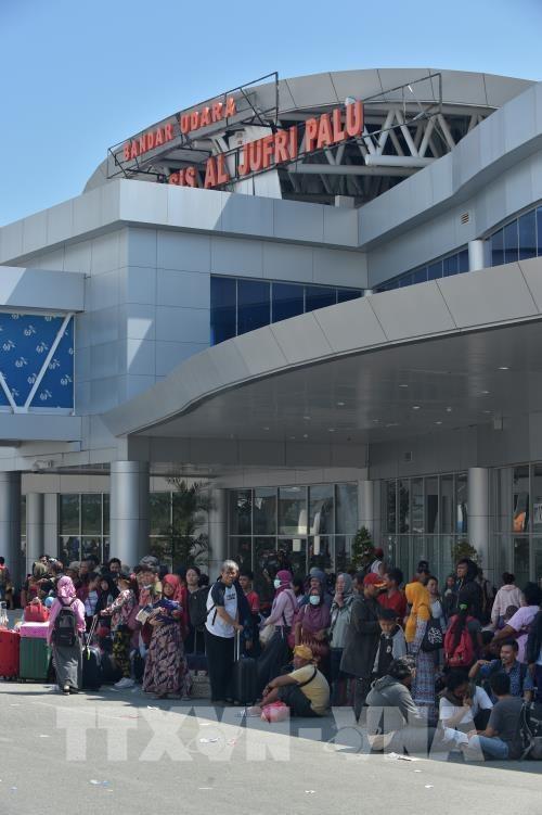 印尼地震海啸:帕卢机场即将正常营业 hinh anh 2