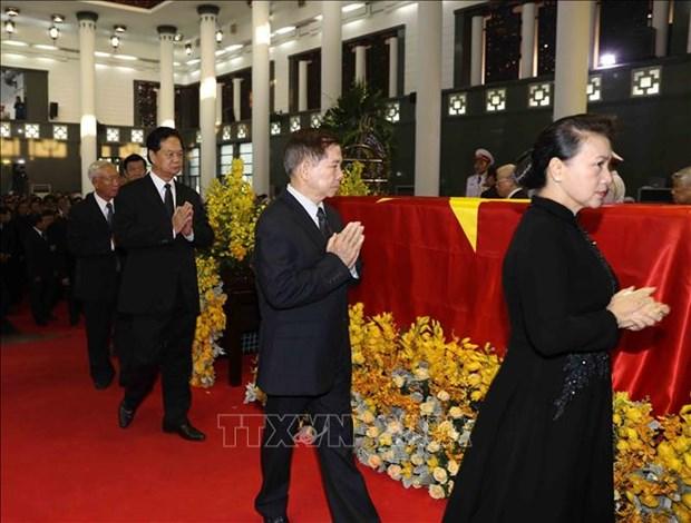 越南领导人对杜梅同志的赞扬和哀悼 hinh anh 4