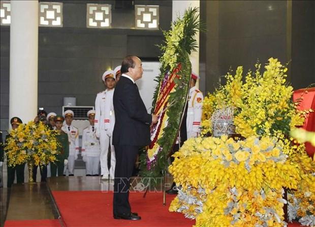 越南领导人对杜梅同志的赞扬和哀悼 hinh anh 3
