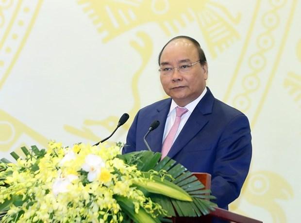 阮春福总理:日本与湄公河流域国家合作有利于促进地区繁荣发展 hinh anh 1