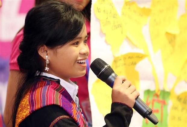 """题为""""促进女童权力 实现改变与发展""""的2018年女童论坛举行 hinh anh 2"""