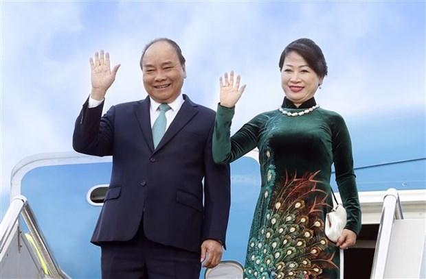 阮春福出席第十届日本与湄公河流域国家峰会和访问日本:促进越日合作向纵深、全面、务实发展 hinh anh 1