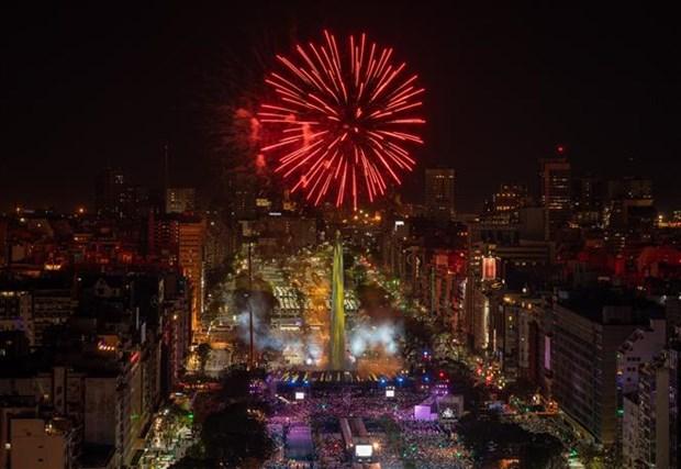 2018年青年奥林匹克运动会隆重开幕 hinh anh 2
