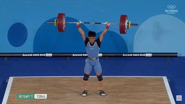 2018年青年奥林匹克运动会第一天越南选手摘得一金一银 hinh anh 1