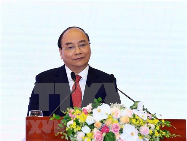 日本媒体刊登越南政府阮春福接受记者采访的文章 hinh anh 1