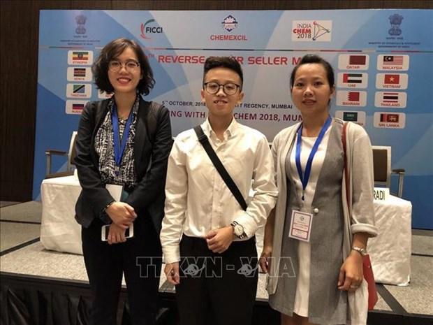越南企业参加2018年第10届印度国际化工展览会 hinh anh 1