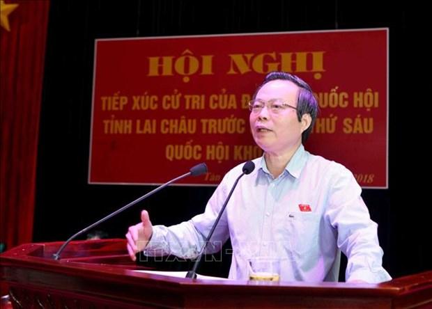 越南国会副主席冯国显接待莱州省选民 hinh anh 1