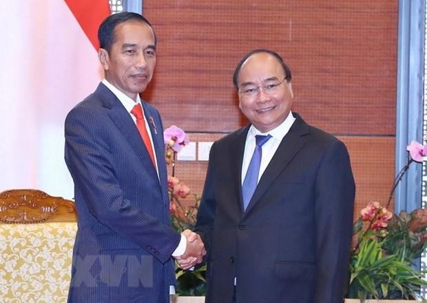 阮春福总理出访印尼之行: 越南重视对东盟关系和越南印尼战略伙伴关系 hinh anh 1