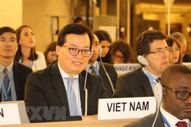 越南为第35届法语国家组织部长级会议做出积极贡献 hinh anh 1