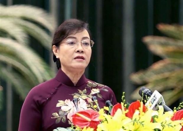 第九届胡志明市人民议会第十次会议通过许多重要内容 hinh anh 1