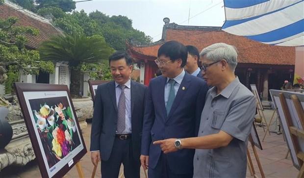 """首都解放64周年:""""我心中的河内""""摄影展在文庙国子监举行 hinh anh 2"""
