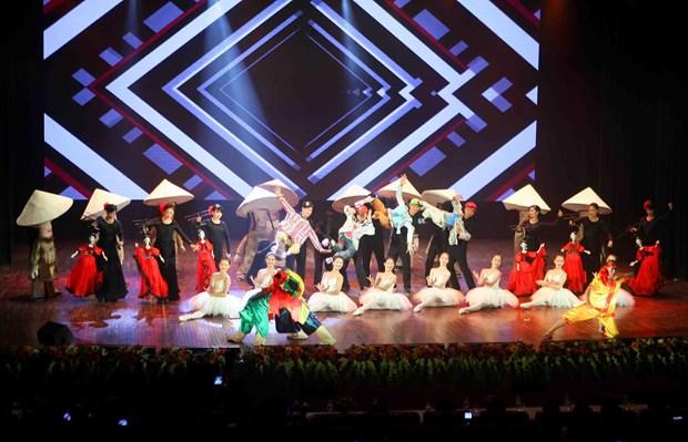 2018年第五届国际木偶戏节在首都河内拉开帷幕 hinh anh 1