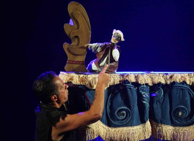 2018年第五届国际木偶戏节在首都河内拉开帷幕 hinh anh 2