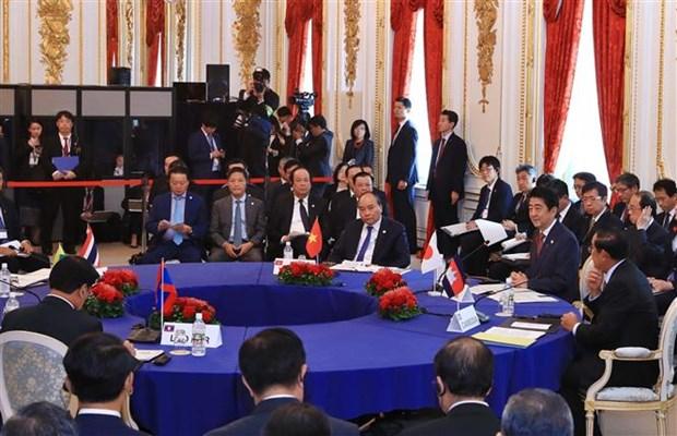 政府总理阮春福出席第十届日本与湄公河流域国家峰会 hinh anh 2
