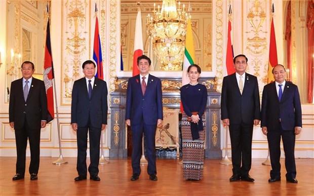 政府总理阮春福出席第十届日本与湄公河流域国家峰会 hinh anh 1