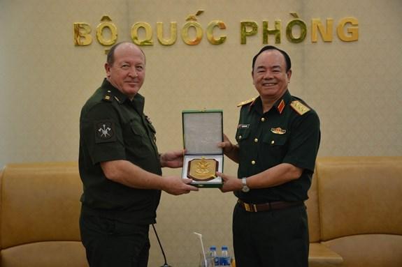 越南与俄罗斯加强联合国维和领域合作 hinh anh 1