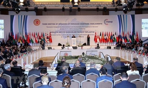 第三届欧亚国家议长会议闭幕 通过安塔利亚联合声明 hinh anh 2