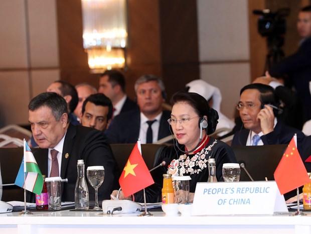 第三届欧亚国家议长会议闭幕 通过安塔利亚联合声明 hinh anh 1