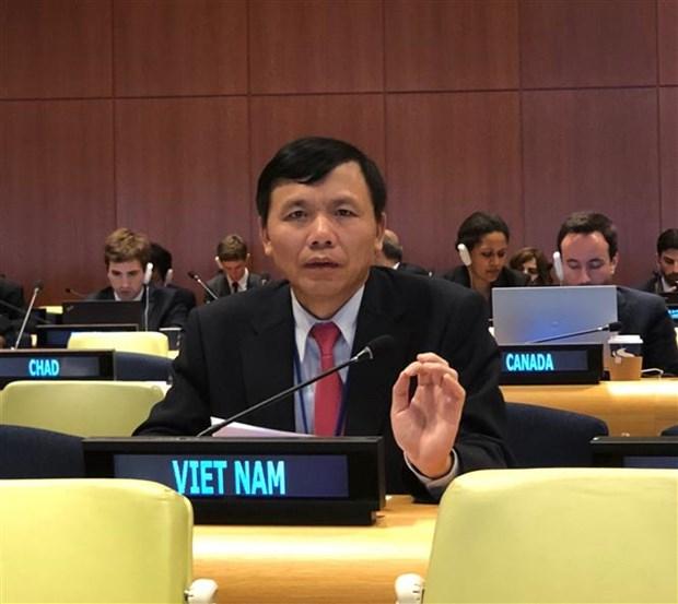 越南参加第73届联合国大会法律委员会会议 hinh anh 1