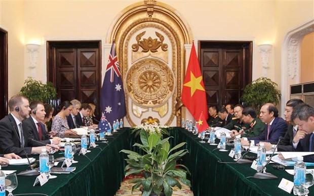 越南与澳大利亚举行第六届国防外交副部长级战略对话 hinh anh 1