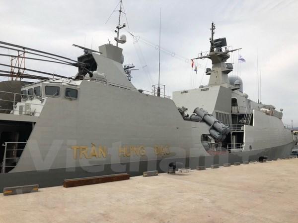 越南参加在韩国举行的国际舰队检阅活动 hinh anh 1
