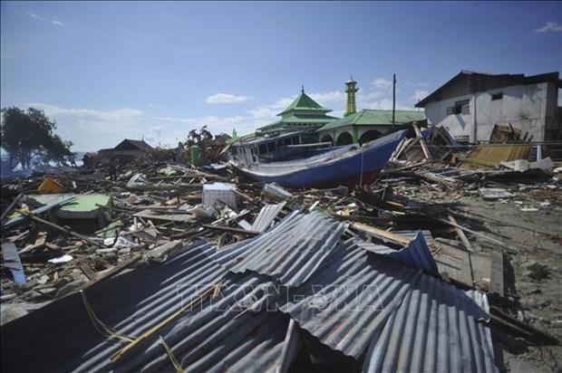 印尼地震和海啸:伤亡人数仍在上升中 hinh anh 1