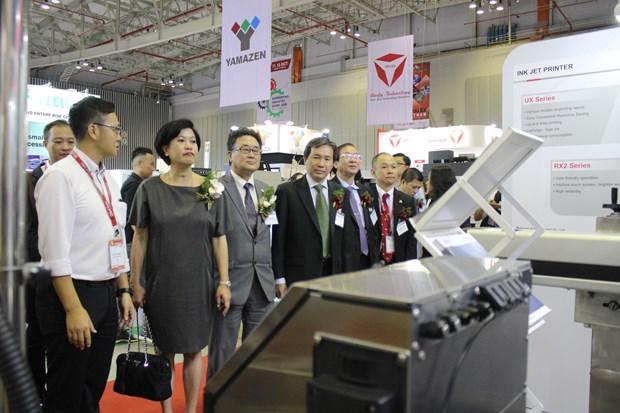 技术和生产解决方案系列展览会在胡志明市开幕 hinh anh 2