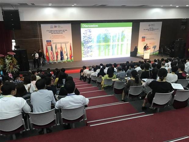 第十届世界科技城市联盟大学校长论坛在越南平阳省举行 hinh anh 1