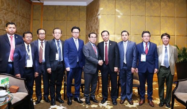 越南与柬埔寨加强农林渔业的合作 hinh anh 2