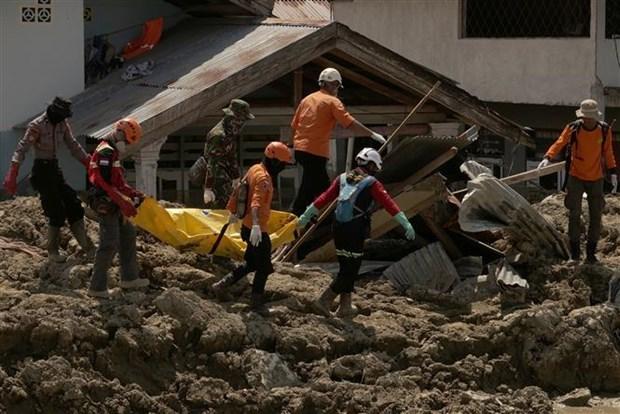 印度尼西亚再次发生地震 hinh anh 1