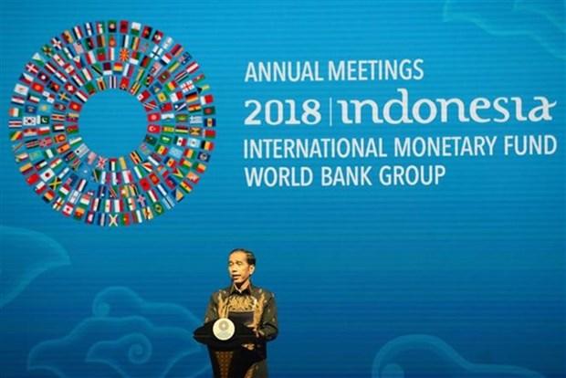 IMF与WB秋季年会:东盟再次强化对自由贸易的承诺 hinh anh 1