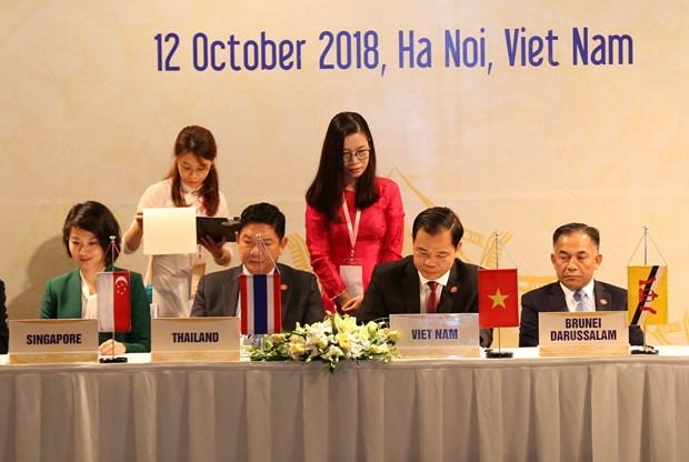 第40届东盟农林业部长会议:成功签署和通过多项文件 hinh anh 2