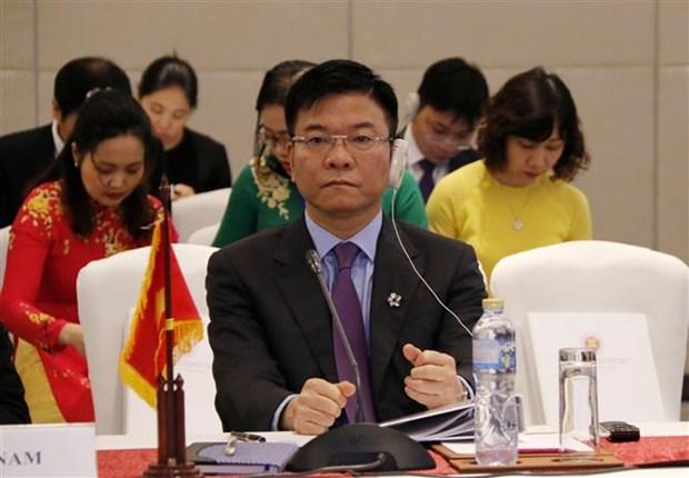 第十届东盟司法部长会议在老挝举行 hinh anh 3