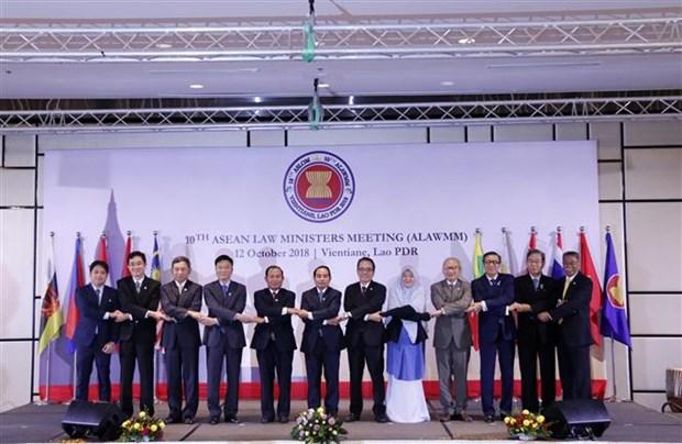 第十届东盟司法部长会议在老挝举行 hinh anh 2